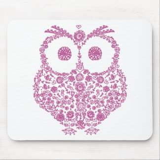 CUTE OWL LOVERS GIFT MOUSE PAD