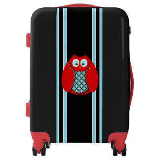 Cute Owl Luggage