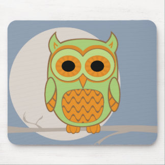 Cute Owl Mouse Pad