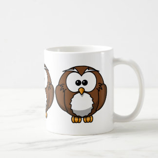 Cute Owl Classic White Coffee Mug