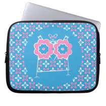 Cute Owl Neoprene Laptop Sleeve