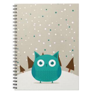 Cute owl note books