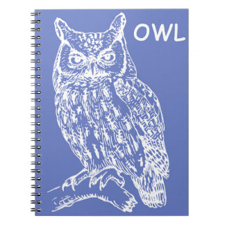 Cute Owl Notebook