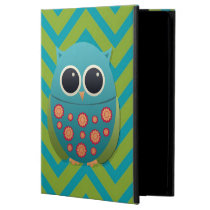 Cute Owl on Chevron  Powis iCase iPad Case