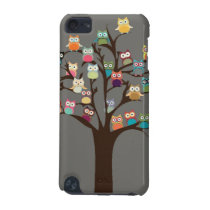 Cute Owl On Tree | Background iPod Touch (5th Generation) Cover
