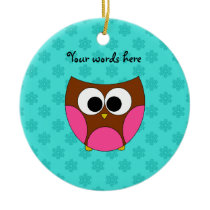 Cute owl ornament