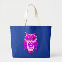 cute owl,owls large tote bag