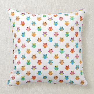 Cute Owl Pattern Pillow