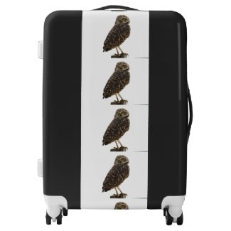 Owl Pattern Suitcase Luggage