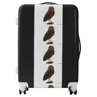 Owl Pattern Suitcase Luggage