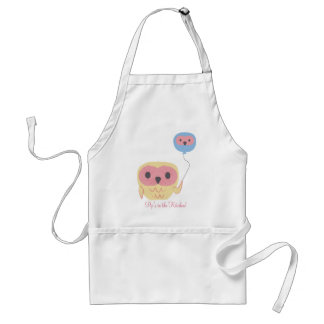 Cute Owl Personalized Girls Art Craft Apron