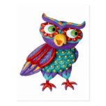 Cute Owl Post Card