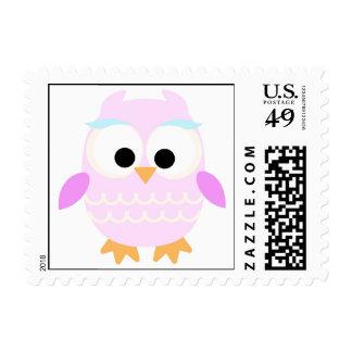 Cute Owl Postage Stamp