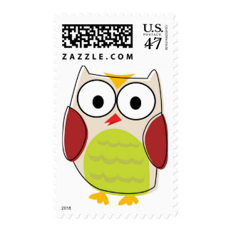 Cute Owl Postage Stamps