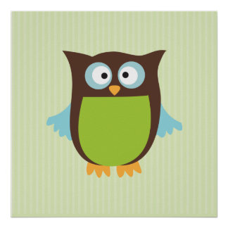 Cute Owl Posters