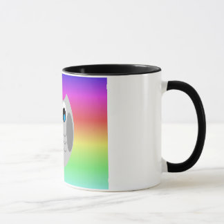 Cute Owl Rainbow Mug