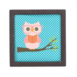 Cute Owl Reading Gift Box