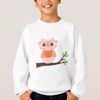 Cute Owl Reading Sweatshirt