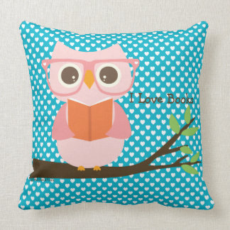 Cute Reading Pillow : School Librarian Gifts on Zazzle
