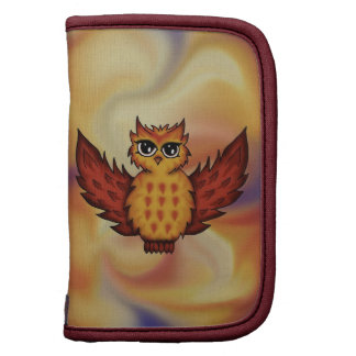 cute owl red organizers