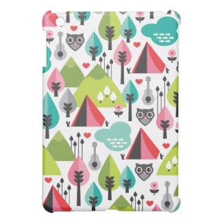 Cute owl retro iphone case case for the iPad mini