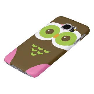 Cute Owl SAMSUNG GALAXY 6S CASE