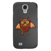 Cute Owl Samsung Galaxy S4 Cover