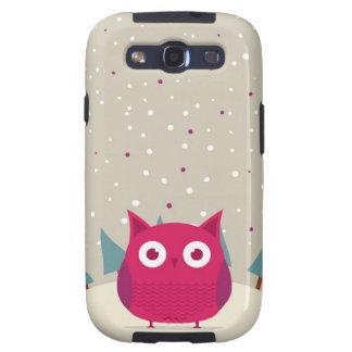 Cute owl samsung galaxy SIII case