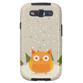 Cute owl samsung galaxy SIII cover