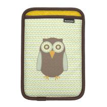 Cute Owl Sleeve For iPad Mini