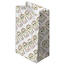 cute owl small gift bag