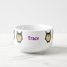 Cute Owl Soup Mug