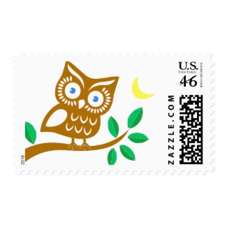 Cute Owl stamp