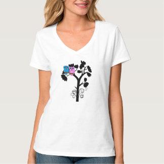 Cute Owl T Shirt for Women