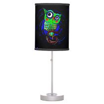 Cute Owl Table Lamp