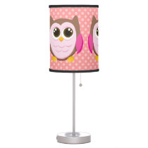 Cute Owl Table Lamp