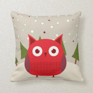 Cute owl throw pillows