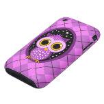 cute owl tough iPhone 3 cover