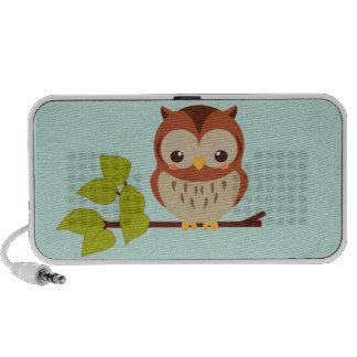 Cute Owl Travel Speaker