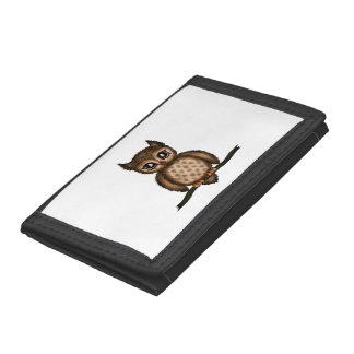 cute Owl Trifold Wallet