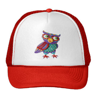 Cute Owl Trucker Hat