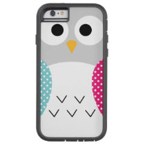 Cute Owl Vector Tough Xtreme iPhone 6 Case