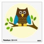 Cute Owl Wall Sticker