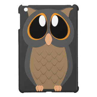 Cute Owl with Big Eyes Cover For The iPad Mini