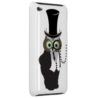 Cute Owl with Monocle iPod Touch Covers