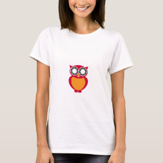 Cute Owl with Photography aperture eyes T-Shirt