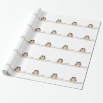 Cute Owl Wrapping Paper