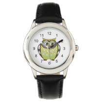 cute owl wrist watch