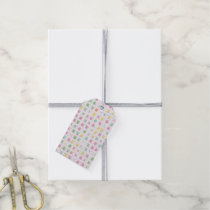 cute owls allover A Gift Tags
