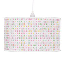 cute owls allover A Hanging Lamp